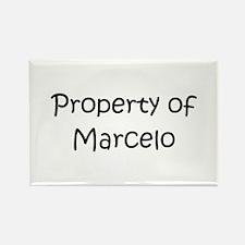 Cute Marcelo Rectangle Magnet