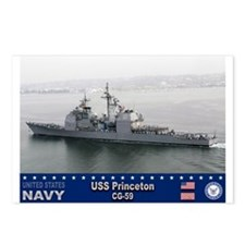 USS Princeton CG-59 Postcards (Package of 8)