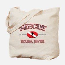 Rescue Scuba Diver Tote Bag