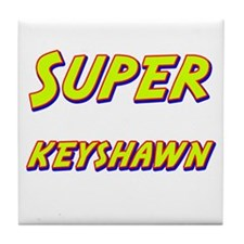 Super keyshawn Tile Coaster