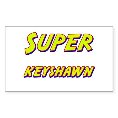Super keyshawn Rectangle Sticker