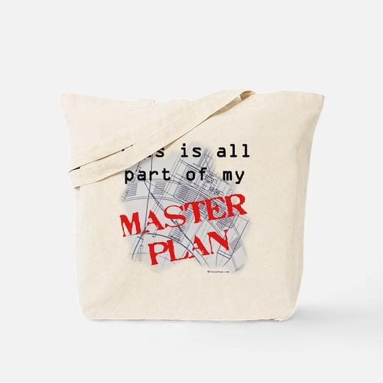 Master Plan Tote Bag