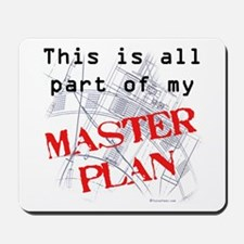Master Plan Mousepad