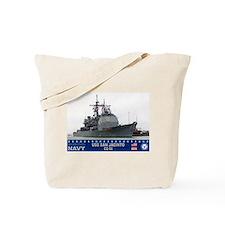 USS San Jacinto CG-56 Tote Bag