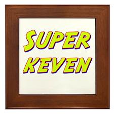 Super keven Framed Tile