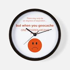 Geocaching Wall Clock