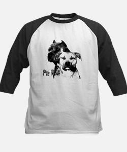 two heads pit bull design Tee