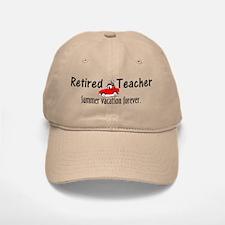 Retired Teacher Baseball Baseball Cap
