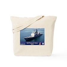 USS Thomas S. Gates CG-51 Tote Bag