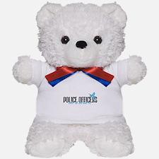 Police Officers Do It Better! Teddy Bear