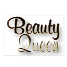 Beauty Queen Postcards (Package of 8)