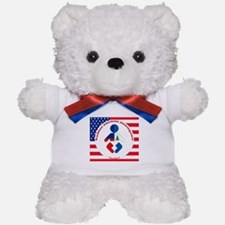 HaitianAmericanNicaraguan Teddy Bear