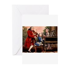 Music composers Greeting Cards (Pk of 10)