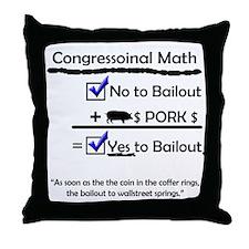Congressional Math in the Bai Throw Pillow