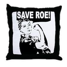 Save Roe! Throw Pillow