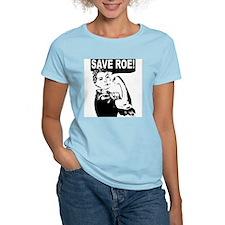 Save Roe! Women's Pink T-Shirt