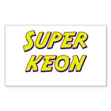 Super keon Rectangle Decal