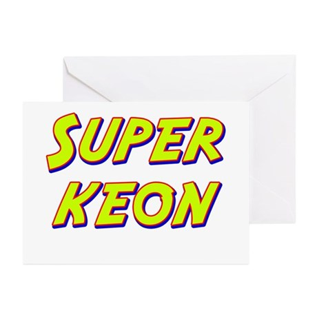 Super keon Greeting Cards (Pk of 20)