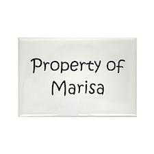 Unique Marisa Rectangle Magnet