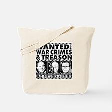 Bush-Cheney-Rumsfeld-War-Crimes Tote Bag