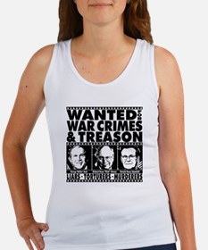 Bush-Cheney-Rumsfeld-War-Crimes Women's Tank Top