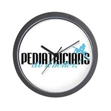 Pediatricians Do It Better! Wall Clock