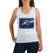 USS Yorktown CG-48 Women's Tank Top