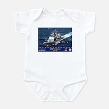 USS Yorktown CG-48 Infant Bodysuit