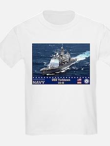 USS Yorktown CG-48 T-Shirt