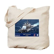 USS Yorktown CG-48 Tote Bag