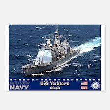 USS Yorktown CG-48 Postcards (Package of 8)