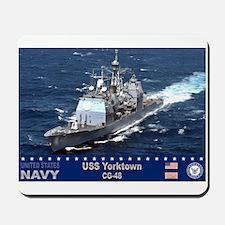 USS Yorktown CG-48 Mousepad