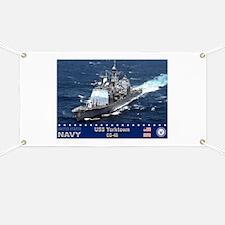 USS Yorktown CG-48 Banner