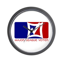 Major League Voter - Vote wit Wall Clock