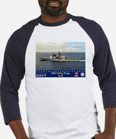 USS Valley Forge CG-50 Baseball Jersey