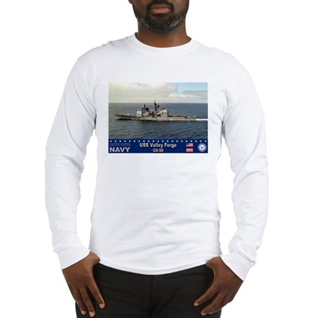 USS Valley Forge CG-50 Long Sleeve T-Shirt
