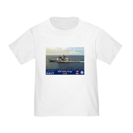 USS Valley Forge CG-50 Toddler T-Shirt