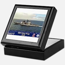 USS Valley Forge CG-50 Keepsake Box