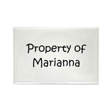 Unique Marianna Rectangle Magnet (10 pack)