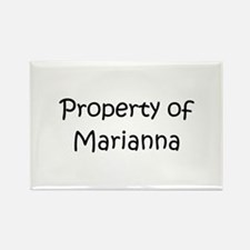 Unique Marianna Rectangle Magnet