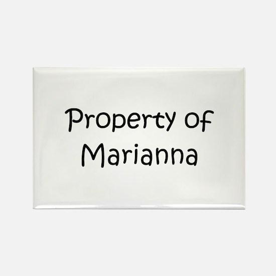 Unique Marianna Rectangle Magnet