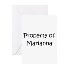 Funny Marianna Greeting Card