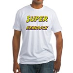 Super kendrick Fitted T-Shirt