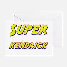 Super kendrick Greeting Card