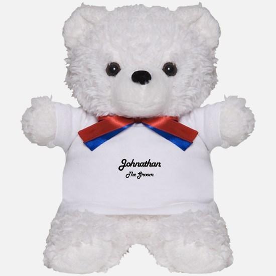 Johnathan - The Groom Teddy Bear