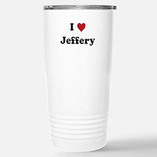 I love Jeffery Travel Mug