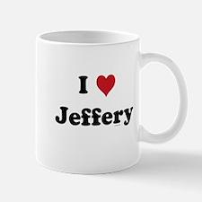 I love Jeffery Mug