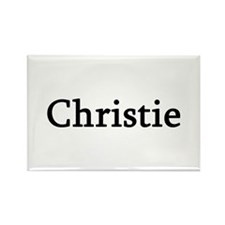Christie - Personalized Rectangle Magnet (100 pack