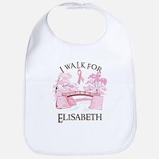I walk for Elisabeth (bridge) Bib