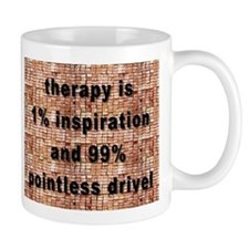 one percent inspiration Mug